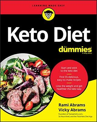Keto Diet For Dummies New Paperback Book