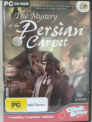 The Mystery of the Persian Carpet - PC CD-ROM, Hidden Object Game