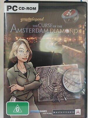 The Curse of the Amsterdam Diamond - PC CD-ROM, Hidden Object Game