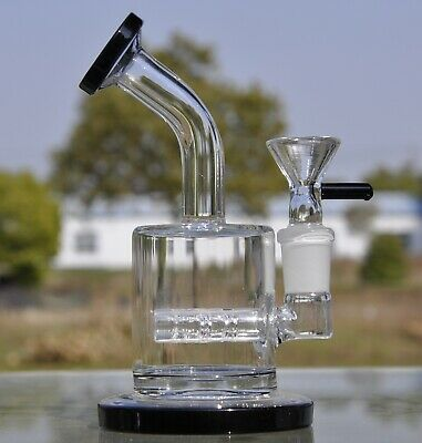 Random color Small glass bong water pipes bongs with 14mm glass bowl