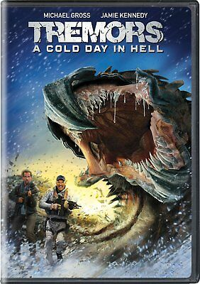 TREMORS 6 Cold Day in Hell Horror Sci-Fi NEW DVD