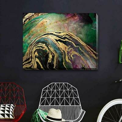 Abstract Marble Stretched Canvas Print Framed Wall Art Home Decor Painting A382