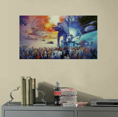 Star Wars Characters Collection Wall Sticker Kids Mural Vinyl Decal Home Decor