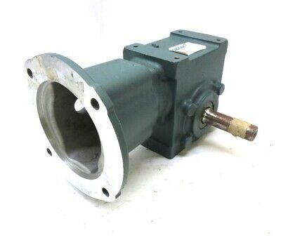 Dodge Tigear 2 Right Angle Worm Gear Speed Reducer 176A15R56, 15:1, 583 Lb-In