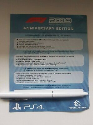 F1® 2019 Anniversary DLC Content Pack Ps4 Playstation 4 NO GAME