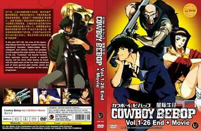 COWBOY BEBOP TV+Movie | Eps. 01-26 | English Audio! | 3 DVDs (M1030)