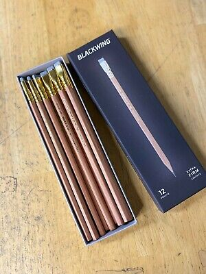 *New* Palomino Blackwing Natural Pencils (Set Of 12) Extra Firm