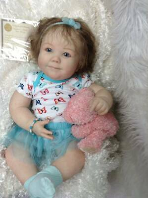 "Realborn Reborn Baby June by Bountiful Baby Toddler 26""- Wendy's Wee One Nursery"