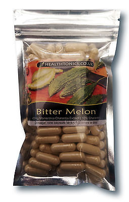 Bitter Melon Extract (100:1 Equivalent to 40g / Cap ), Vegetarian Capsules