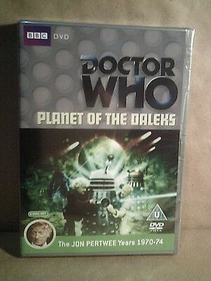Doctor Who - Planet Of The Daleks - (Jon Pertwee) (1970-74) BBC Dvd New/Sealed