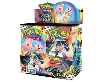 Pokemon Trading Card Game Sun & Moon Cosmic Eclipse Booster Box NOW SHIPPING
