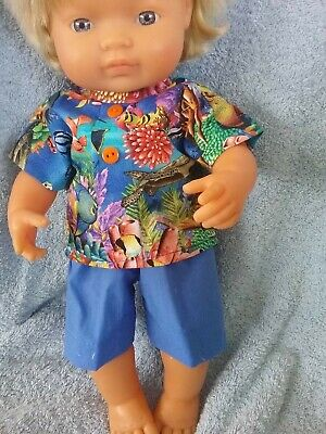 Handmade Clothes For 38cm Miniland doll