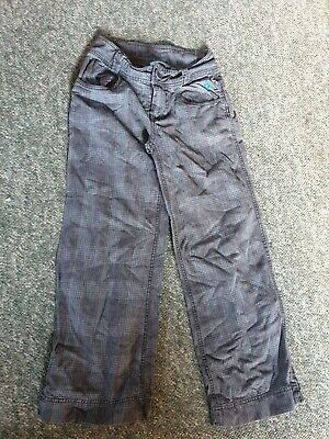Girl's ANIMAL GOLF TROUSERS   SIZE S         CHECKED TARTAN