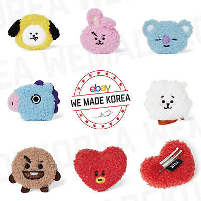 BT21 Character Boucle Hair Pin Hair Clip 7types Official K-POP Authentic Goods