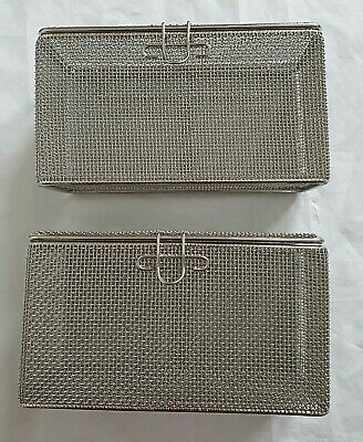 2x Sterilization  Tray for Cleaning Storage