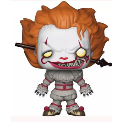 Hot Horror Movie IT Toy Pennywise With Wrought Iron #544 Funko POP New With Box