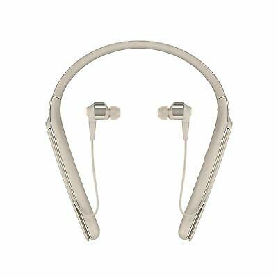 Sony WI-1000X Noise Cancelling Wireless Behind-Neck in Ear Headphones - Gold