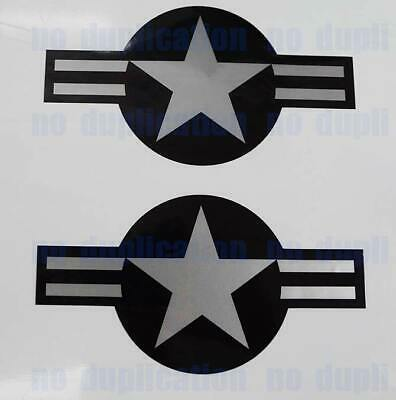 "2-13/""x26.5/"" USAF Aircraft Insignia Sticker Military Decal Air Force Pilot Vet"