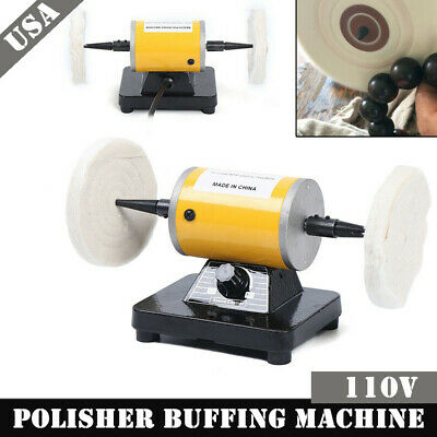 Stupendous 8 Inch Bench Table Top Grinder Buffer Machine Polisher Spiritservingveterans Wood Chair Design Ideas Spiritservingveteransorg