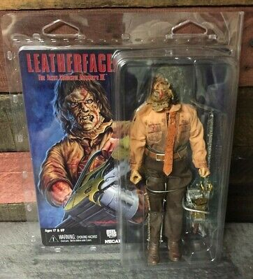 """NECA Texas Chainsaw Massacre 3 Leatherface Clothed 8"""" Action Figure"""