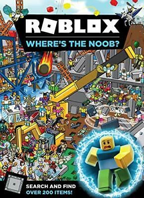 Roblox Where's the Noob? Search and Find Book New Hardcover Book