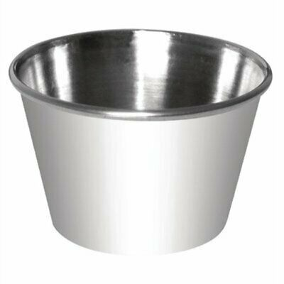 Olympia Dipping Pot Stainless Steel 340ml (Pack of 12) CK907 [W411]