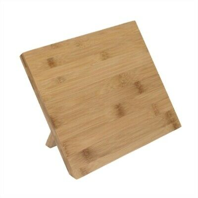 Vogue Wooden Magnetic Knife Stand 245mm CP864 [WVBJ]