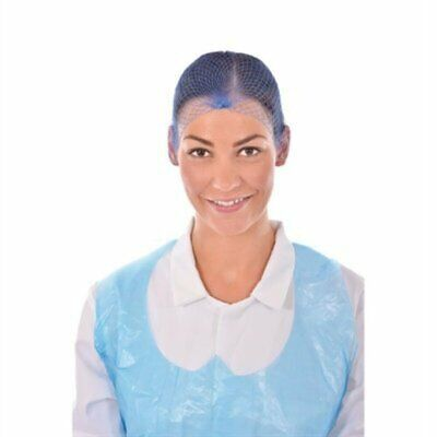 Lion Haircare Hair Net Light Blue (Pack of 50) A291 [021C]