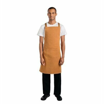 Whites Southside X-Cross Back Apron Tan - 700x1000mm B986 [TT5F]