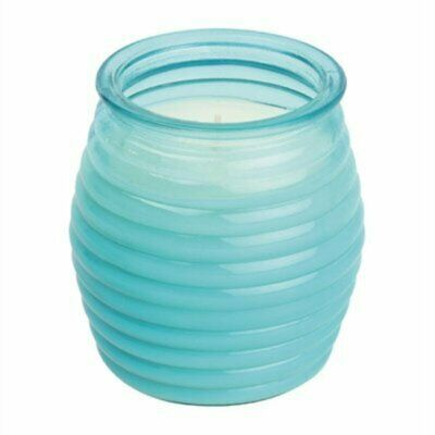Olympia Beehive Jar Candle Blue (Pack of 12) CS749 [47QV]