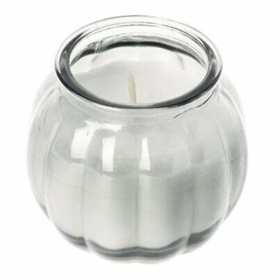 Olympia Pumpkin Jar Candle Clear (Pack of 12) CS750 [OLLY]