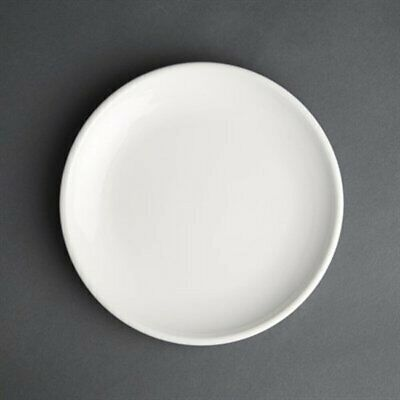 Olympia Cafe Coupe Plate White 250mm (Pack of 6) HC525 [717O]