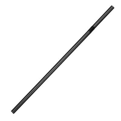 Fiesta Green Compostable CPLA Flexible Straws Black (Pack of 250) (Pack of 250)
