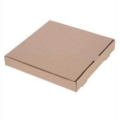 """Fiesta Compostable Plain Pizza Boxes 12"""" (Pack of 100) (Pack of 100) DC724 [5360"""