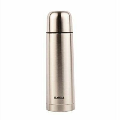 Olympia Vacuum Flask Stainless Steel 500ml CN695 [L85I]