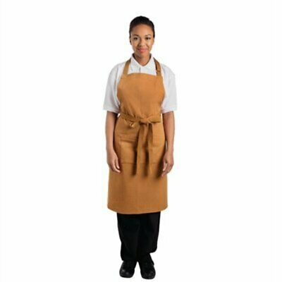 Whites Southside Bib Apron Tan - 700x1000mm B983 [0QIX]