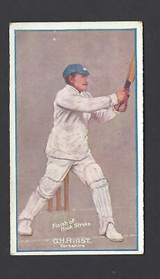 Sniders & Abrahams - Cricketers In Action - G H Hirst, Yorkshire