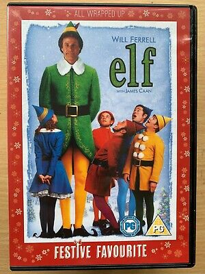 Elf DVD 2003 Christmas Comedy Film Movie Classic with Will Ferrell 2-Discs