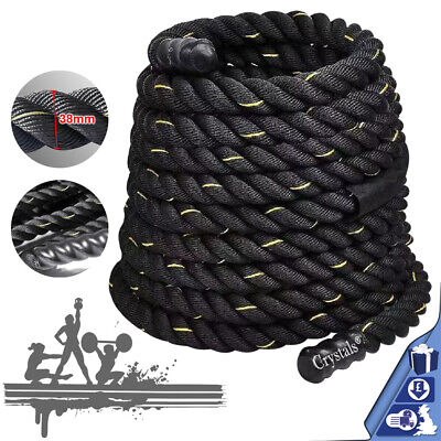 Exercise Rope Battle Power Rope 38/50mm 9/12/15meter Gym Exercise Fitness Train