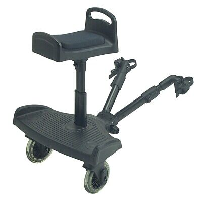 Ride On Silla de Paseo Board con Silla para Bebecar Magic - Negro