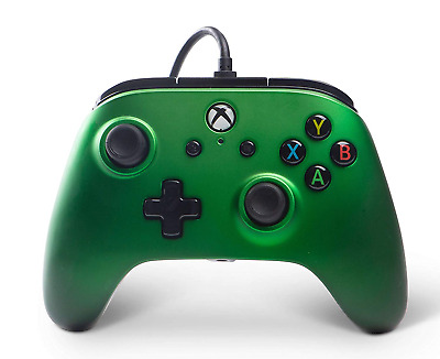 Enhanced Wired Controller for Xbox One - Emerald Fade xbox_one