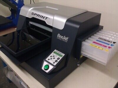 FULLY WORKING Anajet Sprint DTG Apparel Printer SP-200B Tshirt Direct to Garment