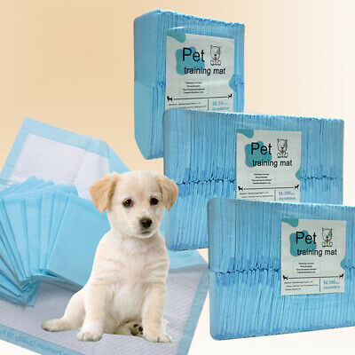 Puppy Dog Cat Pet Training Pads Dry Thick Absorption Pet Toilet Trainer Pads
