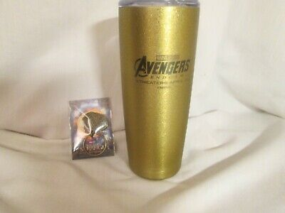 Movie Promo New 2019 Avengers Endgame Travel Bottle /Lid & 2016 Doctor Strange K