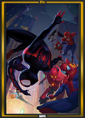 Topps Marvel Collect GOLD Marvel Comics: Spider-Verse #1 Comic Book Day 1000cc
