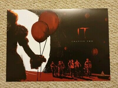 IT Chapter 2 Movie Cinema Poster 2 Odeon Genuine Exclusive promo posters New