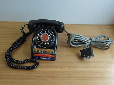 Vintage AUTOMATIC ELECTRIC MONOPHONE ROTARY TELEPHONE MULTI-LINE OFFICE Phone