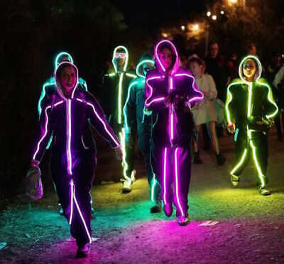 LED StickMan - most unique halloween outfit this year! FREE SHIPPING