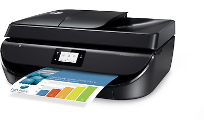 HP OfficeJet 5255 All-in-One Printer (M2U75A) with INK NEW OPEN BOX