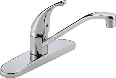 Peerless Single-Handle Kitchen Sink Faucet, Chrome P110LF, EASY INSTALLATION